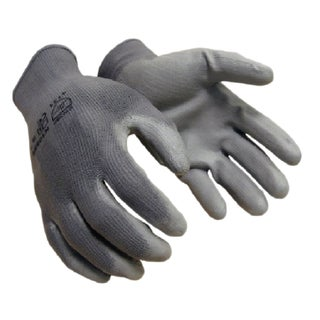 Azusa Safety Grey 13-Gauge Polyurethane Coated Nylon Shell Working Gloves (12 Pairs)