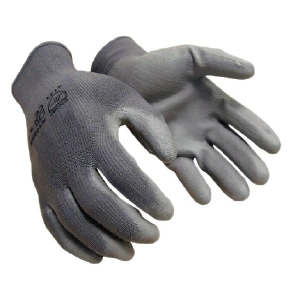 Azusa Safety Grey 13-Gauge Polyurethane Coated Nylon Shell Working Gloves (12 Pairs)