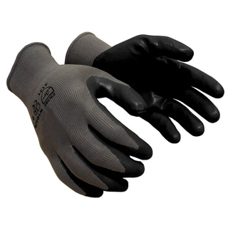 Azusa Safety 13-Gauge Grey Nylon Shell Working Gloves with Palm Coating (Pack of 12)