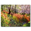 David Lloyd Glover 'Magic Flower Forest' Canvas Art
