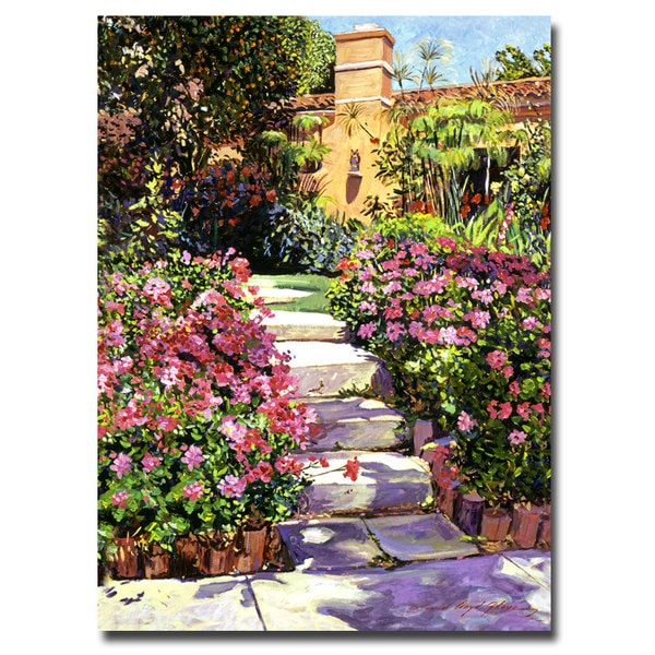 David Lloyd Glover 'The Five Steps' Canvas Art