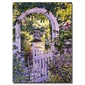 David Lloyd Glover 'Country Garden Gate' Canvas Art