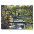 David Lloyd Glover 'Giverny Footbridge' Canvas Art