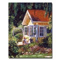 David Lloyd Glover 'Artist's Summer Cottage' Canvas Art