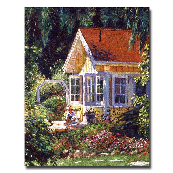David Lloyd Glover 'Artist's Summer Cottage' Canvas Art