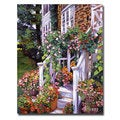 David Lloyd Glover 'A New England Visit' Canvas Art