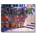 David Lloyd Glover 'Tuscan Plaza' Canvas Art