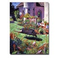 David Lloyd Glover 'Color Garden Impression' Canvas Art