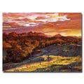 David Lloyd Glover 'California Dreaming' Canvas Art