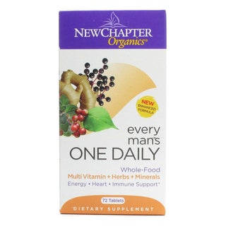 New Chapter Every Man's One Daily (72 Tablets)
