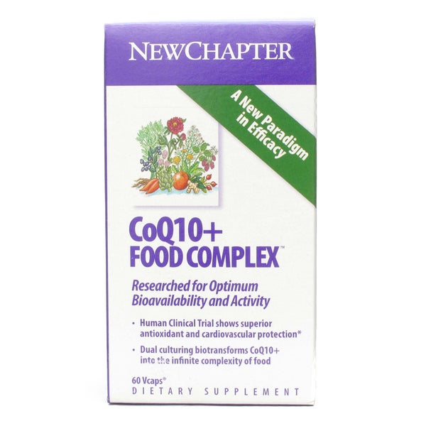 New Chapter CoQ10+ Food Complex Vcaps (60 count)