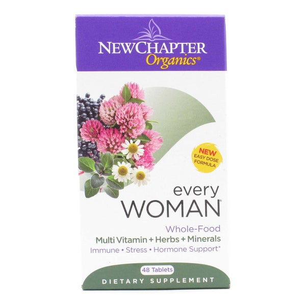 New Chapter Every Woman Multi Vitamin (48 Tablets)