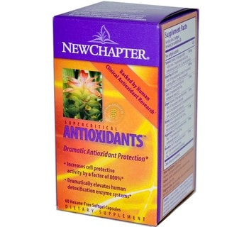 New Chapter Supercritical Antioxidants (60 Softgels)