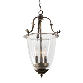 Avery 3-light Glass Chandelier