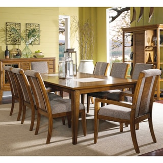 Toluca Lake 9-piece Dining Set with Upholstered Chairs
