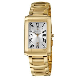 Maurice Lacroix Men's Yellow Goldplated 'Miros' Watch