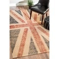 Rug Collective Union Jack Jute Rug