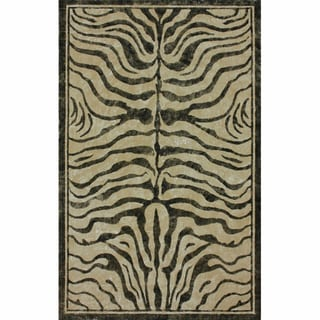 nuLOOM Arts & Crafts Zebra Jute Rug