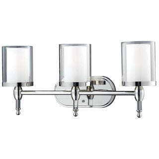 Argenta Chrome 3-light Vanity Light