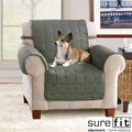 Soft Suede Loden Waterproof Chair Protector