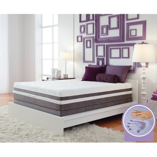 Optimum by Sealy Posturepedic Gel Memory Foam Elation Pillowtop Twin XL-size Mattress Set