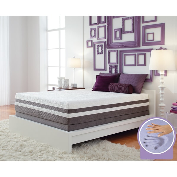 Optimum by Sealy Posturepedic Gel Memory Foam Elation Pillowtop Twin XL-size Mattress Set