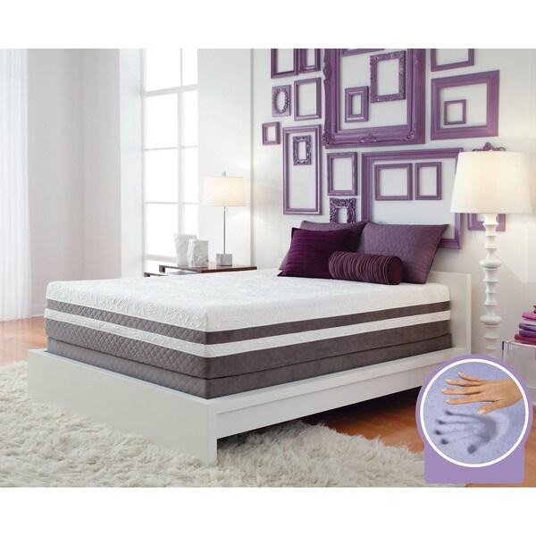 Optimum by Sealy Posturepedic Gel Memory Foam Elation Pillowtop Queen-size Mattress Set