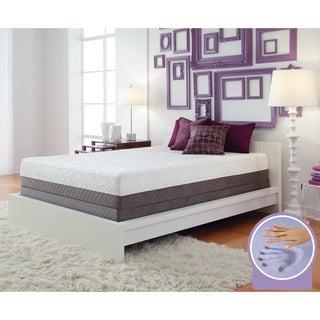 Optimum by Sealy Posturepedic Gel Memory Foam Inspiration Queen Mattress Set