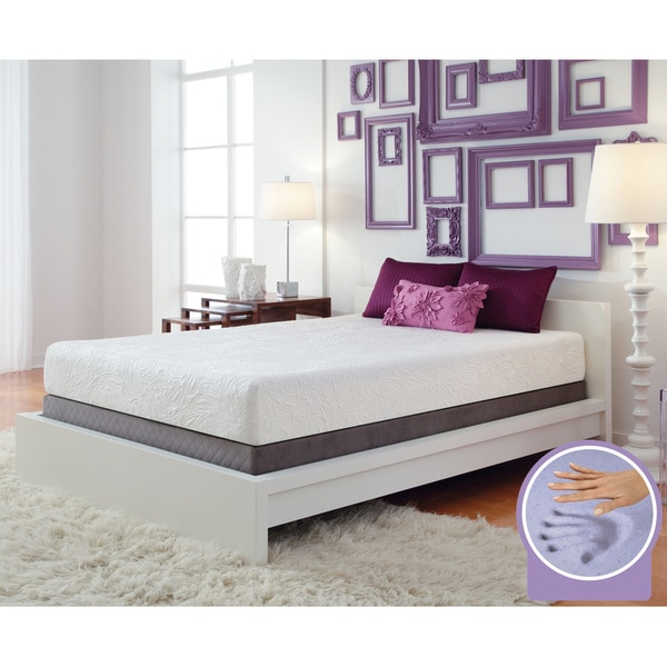 Optimum by Sealy Posturepedic Gel Memory Foam Destiny Cal King-size Mattress Set
