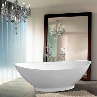 Aquatica PureScape 621M Freestanding AquaStone Bathtub