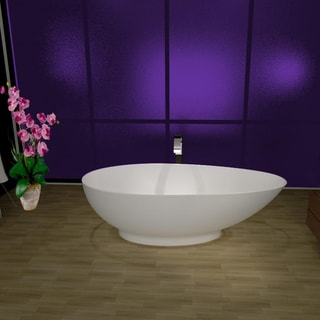 Aquatica PureScape 620M Freestanding AquaStone Bathtub