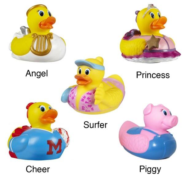 Munchkin White Hot Super Safety Bath Ducky (Girl Designs)