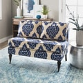 Cassidy Indigo Ikat Loveseat