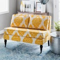 Cassidy French Yellow/ Cream Loveseat