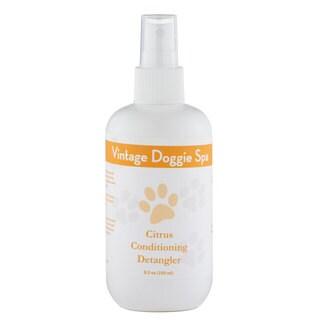 Vintage Doggie Spa Citrus Conditioning Detangler