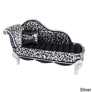 Jacki Design Leopard Lounge Chair Ring Holder