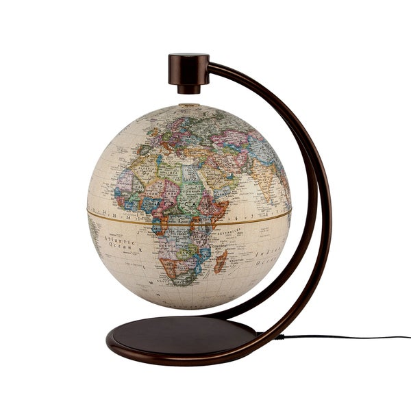 Stellanova Antique 8-inch Levitating Globe
