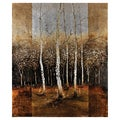 Lecavalier 'Forest Light' Hand Painted Canvas