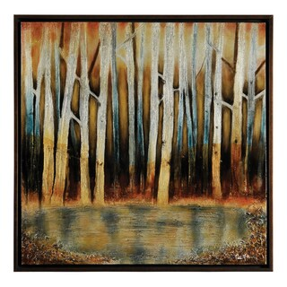 Patrick St. Germain 'First Signs of Spring' Hand Painted Canvas