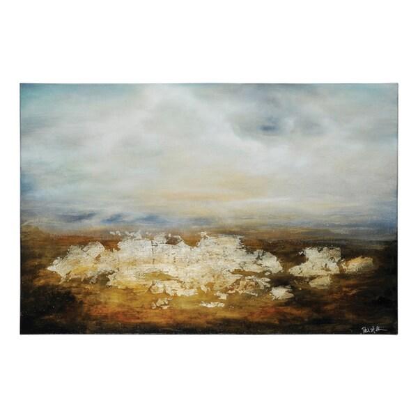 Patrick St. Germain 'Solitude' Hand Painted Canvas