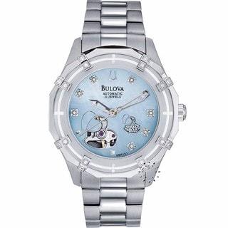 Bulova Women's 96R151 Steel Dual-aperture Automatic Watch