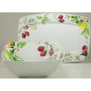 Create a Table European Two-Piece Royal Orchard Fine Porcelain Completer/Serving Set