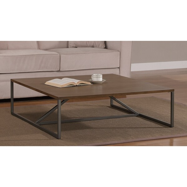 elements low profile strut coffee table 14974199. Black Bedroom Furniture Sets. Home Design Ideas