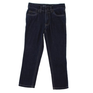 Calvin Klein Boys Dark Wash Denim Pants