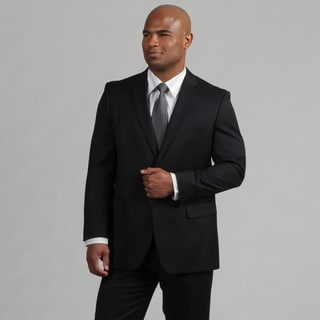 Angelo Rossi Men's Tailored Navy 2-Piece Suit
