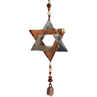 Star of David Wind Chime (India)