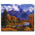 David Lloyd Glover 'River Valley' Canvas