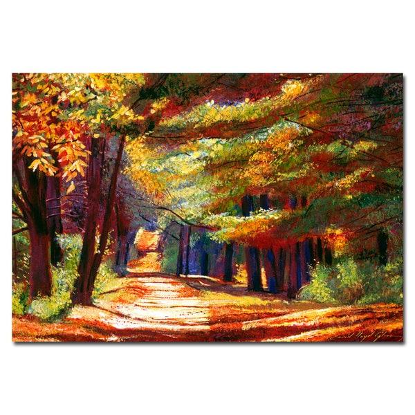 David Lloyd Glover 'September Song' Canvas Art