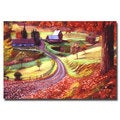 David Lloyd Glover 'Road to Maplegrover Farms' Canvas Art