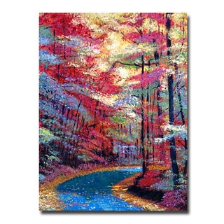 David Lloyd Glover 'September Impressions' Canvas Art